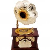 Nostaljik Gramofon Müzik Kutusu-3