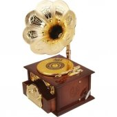 Nostaljik Gramofon Müzik Kutusu-4