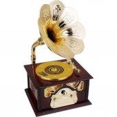 Nostaljik Gramofon Müzik Kutusu-5