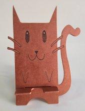Masa Üstü Kedi Telefon Tutucu Stand
