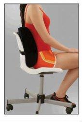 Ortopedik Medikal Ofis Sandalye Araba Oto Koltuk Bel Sırt Desteği Boyun Destek Minderi Yastığı