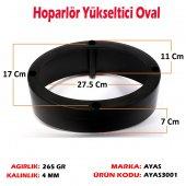 (2 Adet) 6x9 Plastik Oval Hoparlör Yükseltici Kasnağı Kasnak Çerçeve