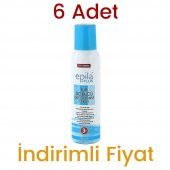 6 Adet Epila Plus Tüy Dökücü Deodorant Sprey 6 X 150 Ml