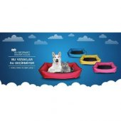 Sıvı Su Geçirmez Yıkanabilir Araç Kedi Köpek Evcil Hayvan Kulübesi Yatağı Minderi Yuvası