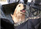 Araba Oto Araç İçi Koltuk Üstü Su Geçirmez Kedi Köpek Taşıma Yatağı Kılıfı Minderi Şiltesi Örtüsü