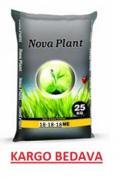 Gübre Nova Plant 18.18.18 + Me 25 Kg Kargo Bedava
