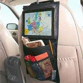 2 Adet Araba Araç İçi Oto Koltuk Arkası Askılı Tablet Telefon Tutucu Aksesuar Eşya Düzenleyici Organizer