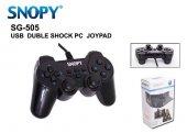 Snopy Sg 505 Usb Duble Shock Pc Gamepad