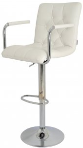 Boombar Helen Bar Sandalyesi-Beyaz-9519Q0109-3
