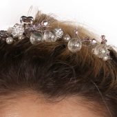 Tantrona Özel El Yapımı İnci Süslemeli Prenses Saç Aksesuarı Band