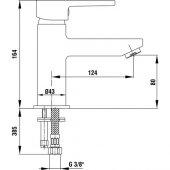 ECA Delta Lavabo Bataryası + Ara Musluk 2li-4