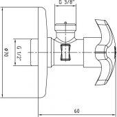 ECA Delta Lavabo Bataryası + Ara Musluk 2li-5