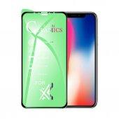 9H FLEXIBLE FULL KAPLAMA SERAMİK NANO CAM  Apple Iphone 6s Plus SİYAH