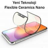 9H FLEXIBLE FULL KAPLAMA SERAMİK NANO CAM  Apple Iphone 6s Plus SİYAH-2