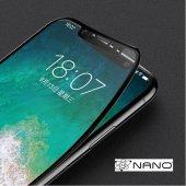 9H FLEXIBLE FULL KAPLAMA SERAMİK NANO CAM  Apple Iphone 7 Plus SİYAH-3
