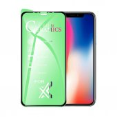 9H FLEXIBLE FULL KAPLAMA SERAMİK NANO CAM  Apple Iphone 8 BEYAZ