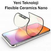9H FLEXIBLE FULL KAPLAMA SERAMİK NANO CAM  Apple Iphone 8 BEYAZ-2