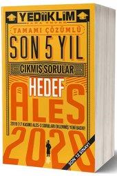 Yediiklim Yayınları 2020 Ales Tamamı Çözümlü...