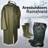 Ares Rainshield Balıkçı Yağmurluk Seti