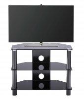 Efor Eco Siyah Cam Tv Sehpa