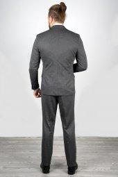 DeepSEA Antracite Yelek Zincir Aksesuarlı Takım Elbise 2001120-5