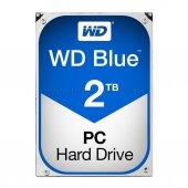 Wd 2tb Blue 64mb 5400rpm Sata Iıı Disk Hdd...