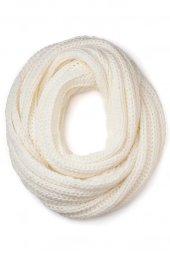 Faberlic Beyaz Renkli Kadınlar İçin Boru Atkı