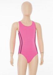 Pembe Kız Çocuk Yüzücü Mayo