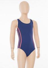 Lacivert Kız Çocuk Yüzücü Mayo