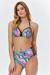 Yüksek Bel Üçgen Bikini