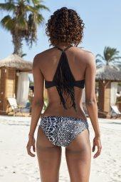 Pierre Cardin Sırtı Püskül Detaylı Üçgen Bikini