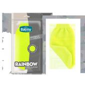 Balmy Naturel Rainbow Çift Taraflı Banyo Eldiveni