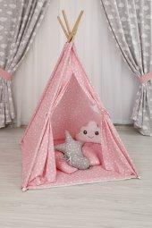 Bebekonfor Pembe Yıldızlı Oyun Çadırı