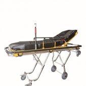 Comfort Plus Ambulans Sedyesi (Siyah Döşemeli)