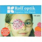 Roll Optik Kapatıcı Göz Bandı 100 Adet