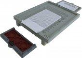 Plastik Arı Kovan Taban Seti 42.5x50.5x8 Cm