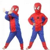 örümcek Adam Kostümü Maske Hediyeli