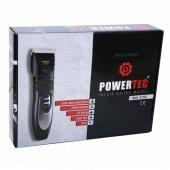 Powertec Tr6500 Profesyonel Şarjlı Tıraş Makinesi Çift Batarya