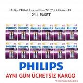 Philips Fr06aa Lityum Ultra 7x 2 Li Aa Kalem...