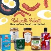 Muhteşem Kahvaltı Paketi Listerine Total Care 1 Litre Hediye