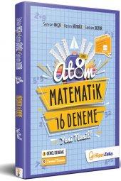 8. Sınıf Atom Matematik 16 Deneme Yeni Nesil Hiper Zeka
