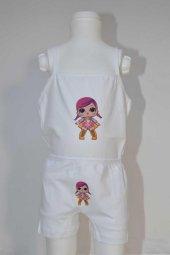 Kız Çocuk Lol Bebek Desenli İç Çamaşır Takımı-4