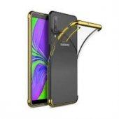 Samsung Galaxy A20/A30 Gold Köşeli Lazer Kılıf