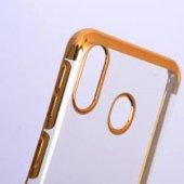 Samsung Galaxy A20/A30 Gold Köşeli Lazer Kılıf-2