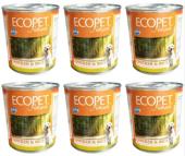 Ecopet Tavuklu Köpek Konservesi 6 Adet X 300g