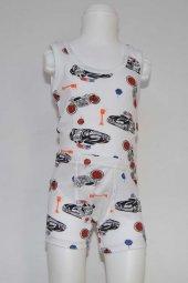 Erkek Çocuk Desenli İç Çamaşır Takımı