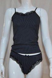 Dantel İşlemeli Likralı Kadın İç Çamaşır Takımı