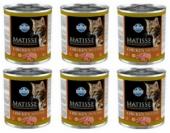 Matisse Cat Tavuklu Yetişkin Kedi Konservesi 6 Adet X 300 Gr