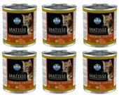 Matisse Cat Mousse Somon Balıklı Kedi Konservesi 6 Adet X 300 Gr