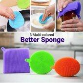 Better Sponge Anti Bakterial Silikon Bulaşık Süngeri (3 Adet)